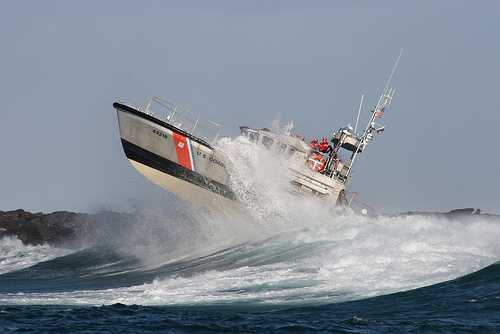 US Coast Guard Motor Life Boat