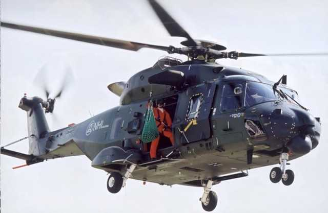 Helicoptero NH90 SAR